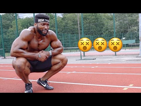 Bodybuilder Tries Speed and Agility Training | This was HORRIBLE