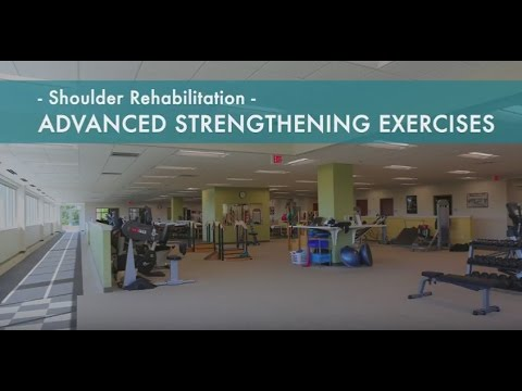 Shoulder Rehab Workout | Shoulder Strengthening Exercises After Injury | Phase 6