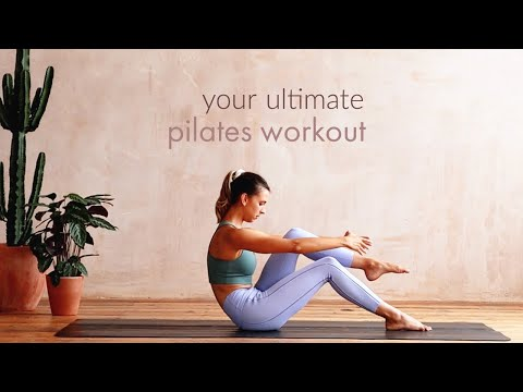 Ultimate Pilates Toning Workout | 30 Minutes Abs, Glutes, Back | Lottie Murphy
