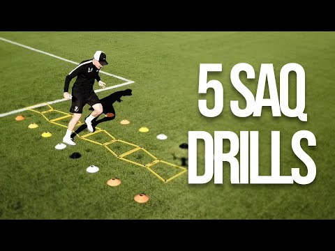 5 Speed & Agility Drills To Improve Your Game | Joner Football