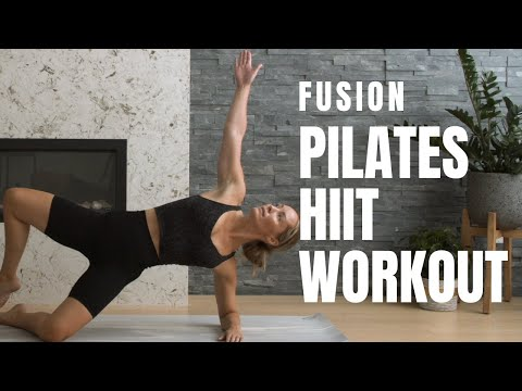 Pilates Fusion // Full Body HIIT Workout (No Equipment, No Jumping)
