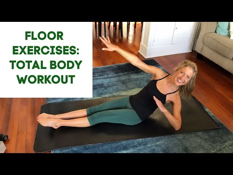 Floor Exercises: Total Body Workout (Arms, Abs, Butt, Thighs)