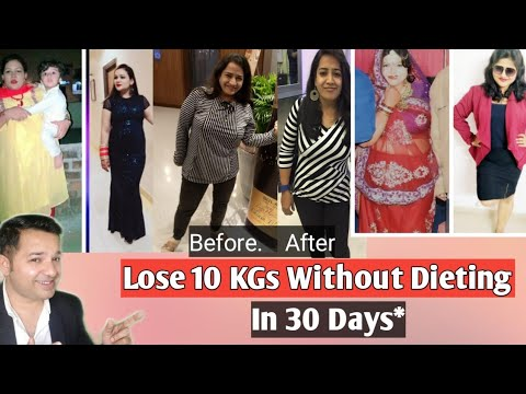 Lose 10 KGs in 30 Days Without Dieting | Fat Loss Motivation By Savikar Bhardwaj