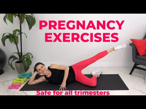 Pregnancy Exercises Second Trimester