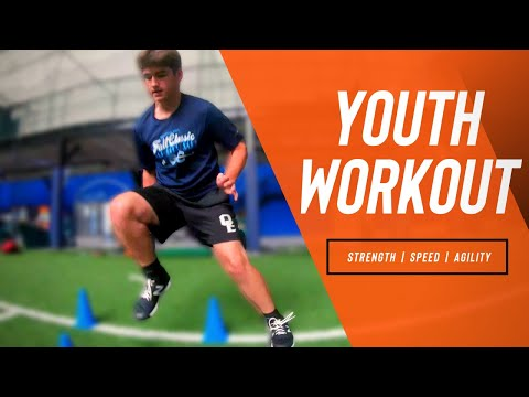 Youth Speed, Strength, and Agility Workout