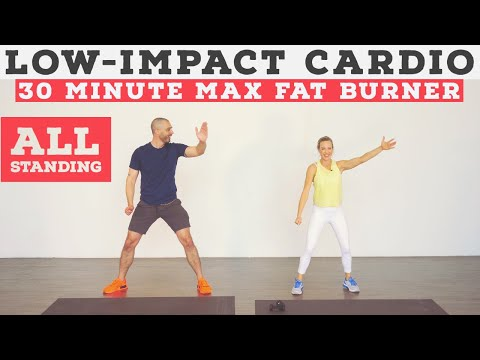 Low impact cardio workout for ALL fitness levels – no equipment, at home!