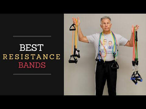 BEST Resistance Band Made!! Build Muscles, Core, & Balance: 5 Exercises