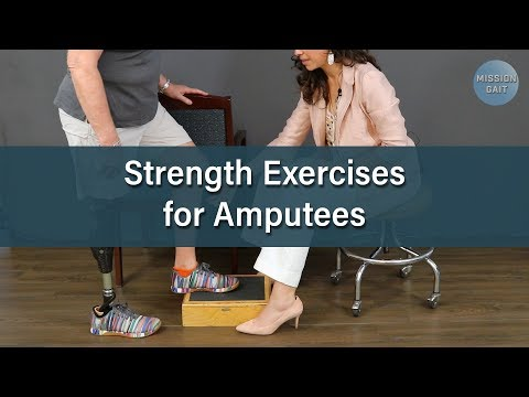 Strength Exercises for Amputees