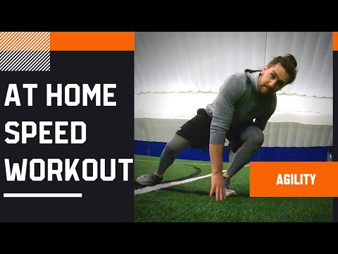 Agility Workout At Home (Speed & Agility Training)