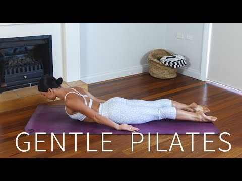 30 MIN GENTLE PILATES FLOW || Morning/Evening Workout