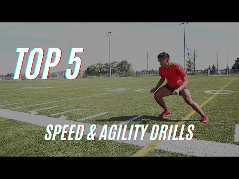 5 Speed and Agility Drills For Athletes | Improve Your Change Of Direction Speed & Reaction