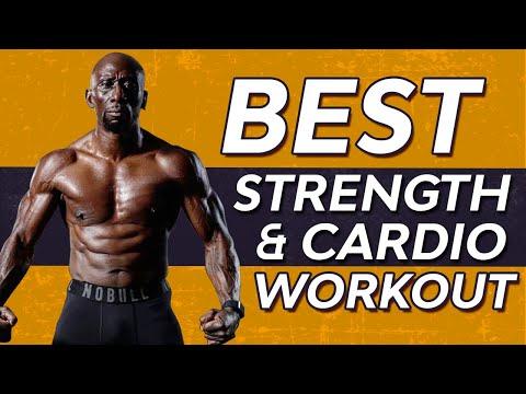 Best Strength and Cardio Workout – Burn Fat – Build Muscle – Improve Cardio  (FOLLOW ALONG)