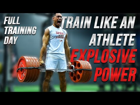 EXPLOSIVE POWER | Speed & Agility Workout | Train Like An Athlete