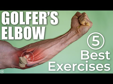 The 5 BEST Exercises For Golfer's Elbow (DO THESE)!