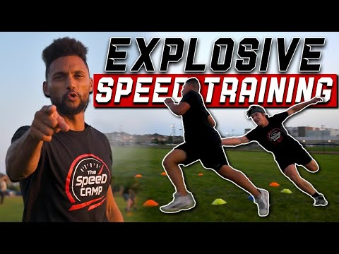 The Speed Camp // SPEED – AGILITY – REACTION – QUICKNESS and EXPLOSIVE Training For Athletes