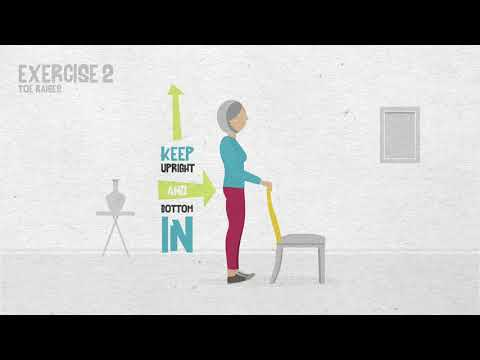 Stay Active at Home – Strength and balance exercises for older adults