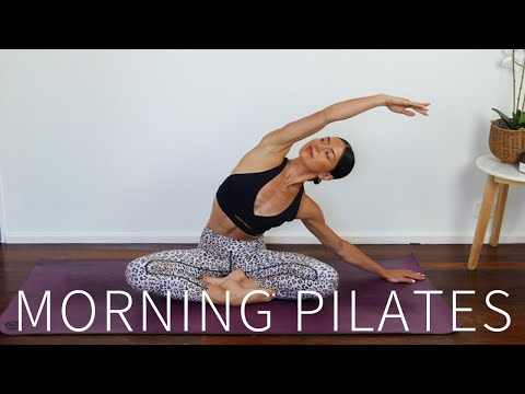 30 MIN MORNING PILATES || Full Body Workout
