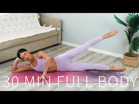 30 MIN FULL BODY WORKOUT || At-Home Pilates (Intermediate)