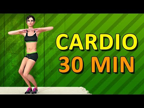 Cardio Workout At Home – 30 Min Aerobic Exercise