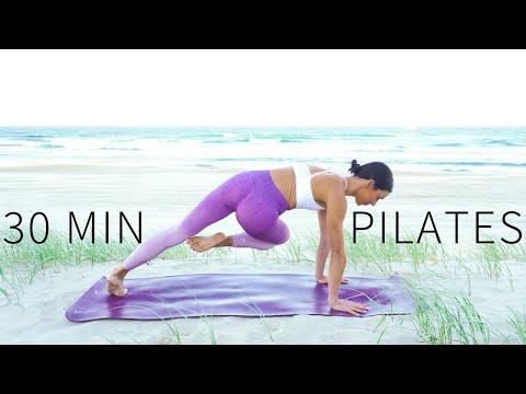30 MIN FULL BODY WORKOUT || Intermediate Mat Pilates