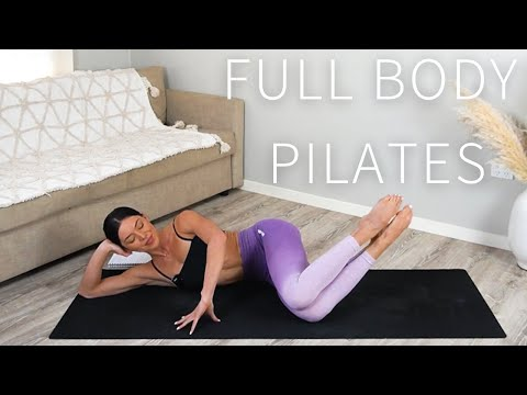 55 MIN FULL BODY PILATES WORKOUT || 🤍 Day 1: Move With Me Series