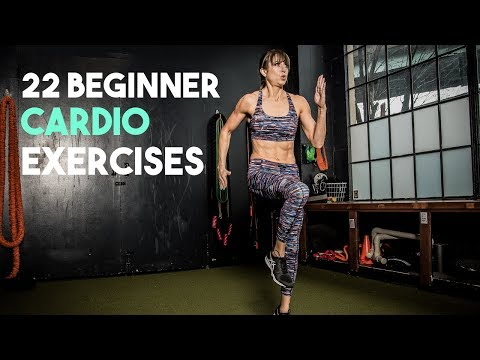 22 Beginner Cardio Workout Moves