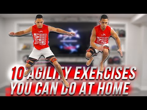 TOP 10 EXERCISES AT HOME FOR AGILITY TRAINING // Explosive Bodyweight Agility HIIT Workout