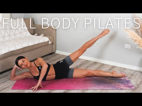 45 MIN FULL BODY WORKOUT || At-Home Pilates 🤍 Day 7: Move With Me Series