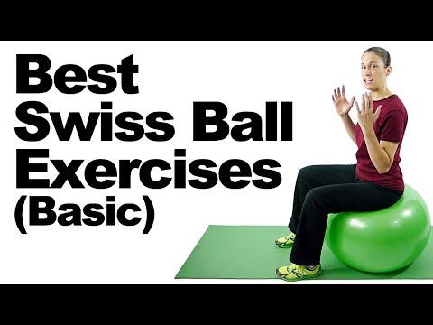 10 Best Swiss Ball Exercises (Basic) – Ask Doctor Jo