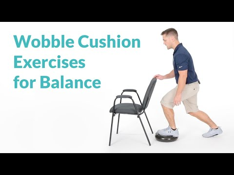 Wobble Cushion Exercises for Balance & Ankle Stability