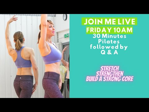 30 Minute Full Body Standing Pilates –  to improve fitness, balance and strength   No Equipment
