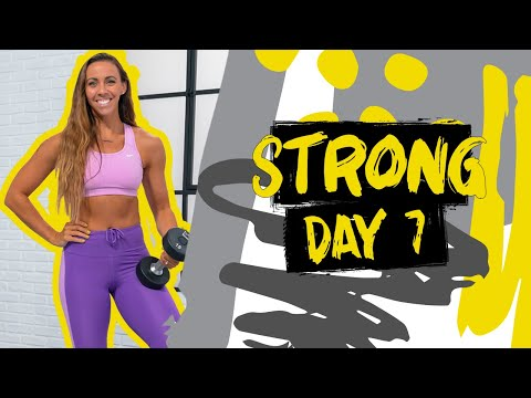 30 Minute Glutes & Abs Supersets Workout | Strong – Day 7