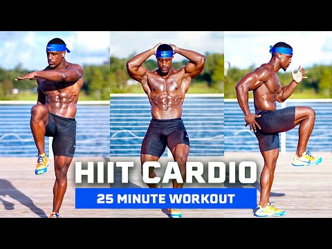 25 MINUTE CARDIO WORKOUT | QUICK WAY TO LOSE STUBBORN FAT (NO EQUIPMENT)
