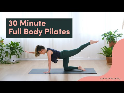 30 Minute Pilates Workout to Strengthen Your Entire Body   Good Moves   Well+Good