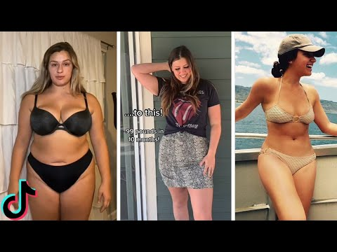 Satisfying Weight Loss Motivation    TikTok Compilation #5