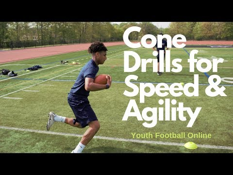 Cone Drills for Speed and Agility