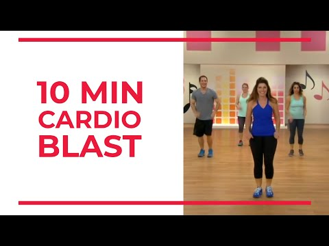 10 Minute CARDIO BLAST   At Home Workouts