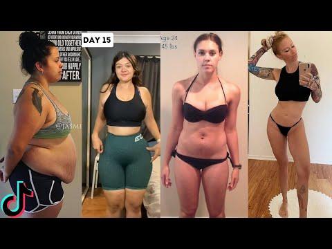 Satisfying  Weight Loss Motivation | TikTok Compilation #1
