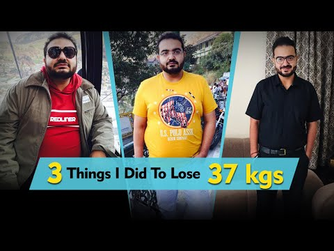 My Weight Loss Story: How I Shed 37 Kilos | Fat To Fit | Fit Tak