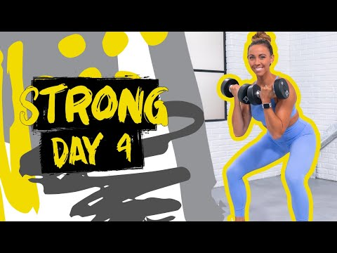 45 Minute Strong Leg Builder Workout | STRONG – Day 4