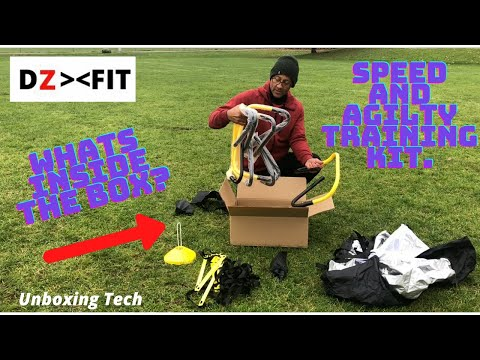 Unboxing   Speed and Agility Training Set
