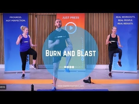 25 minute home cardio and resistance workout – no equipment needed!