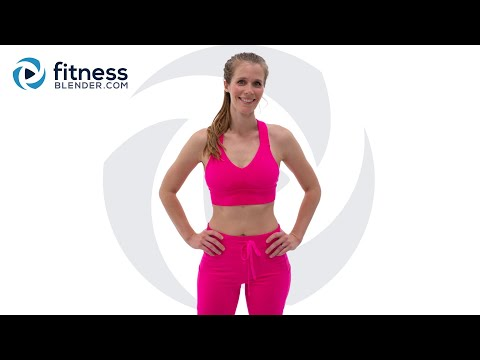 30 Minute Bodyweight Cardio Workout with High and Low Impact Modifications