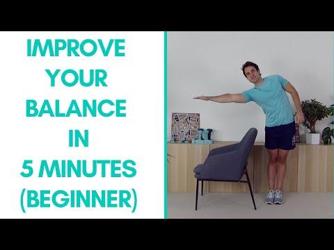 Beginner Balance Exercises For Seniors (Fitter in 5 – 5 -Mins) | More Life Health