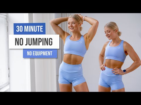 30 MIN LOW IMPACT, NO JUMPING Workout – No Equipment, No Repeat, Apartment Friendly Workout