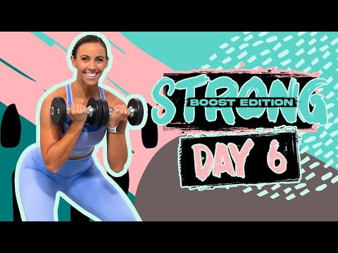 45 Minute Full Body Strength Bootcamp Workout | STRONG [BOOST] – Day 6
