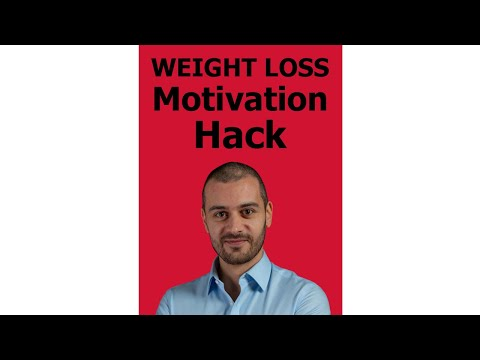 The simplest weight loss motivation hack #Shorts