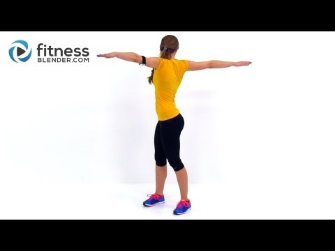 Total Body Toning Low Impact Cardio Workout – 30 Minute At Home Cardio Workout